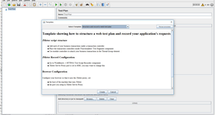 templete.xml is responsible for storing descriptions used by JMeter GUI