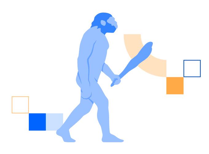 homo sapiens illustration