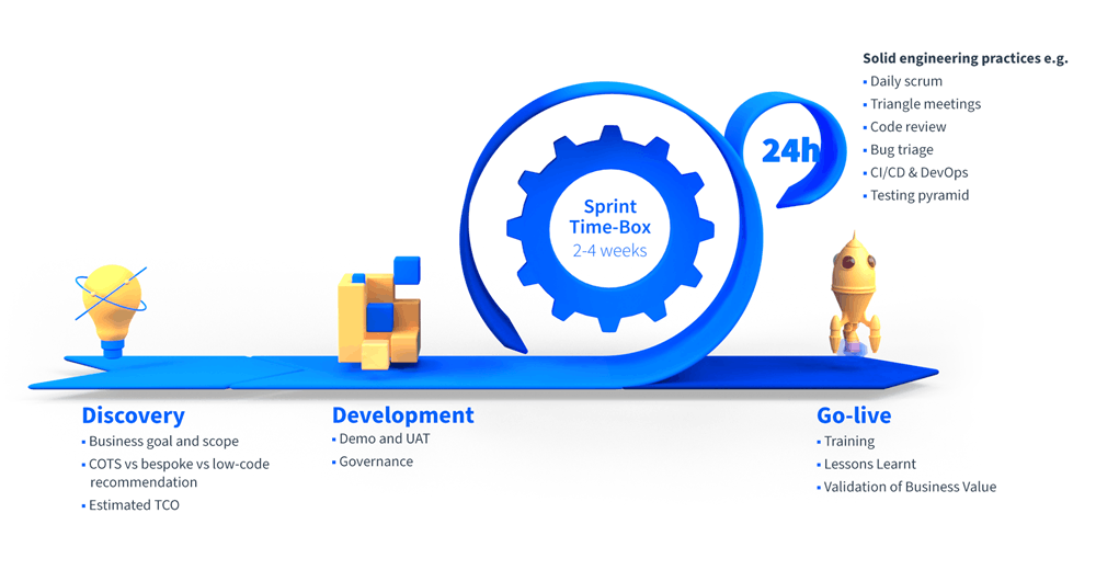 bespoke software delivery process