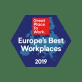 Great Place to Work - Europa 2019 - Beste Arbeitsbereiche
